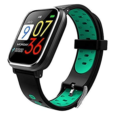 Bluetooth Smart Watch:All-Day Heart Rate and Activity Tracking, Sleep Monitoring, GPS, Ultra-Long Battery Life, Bluetooth for Android & iOS