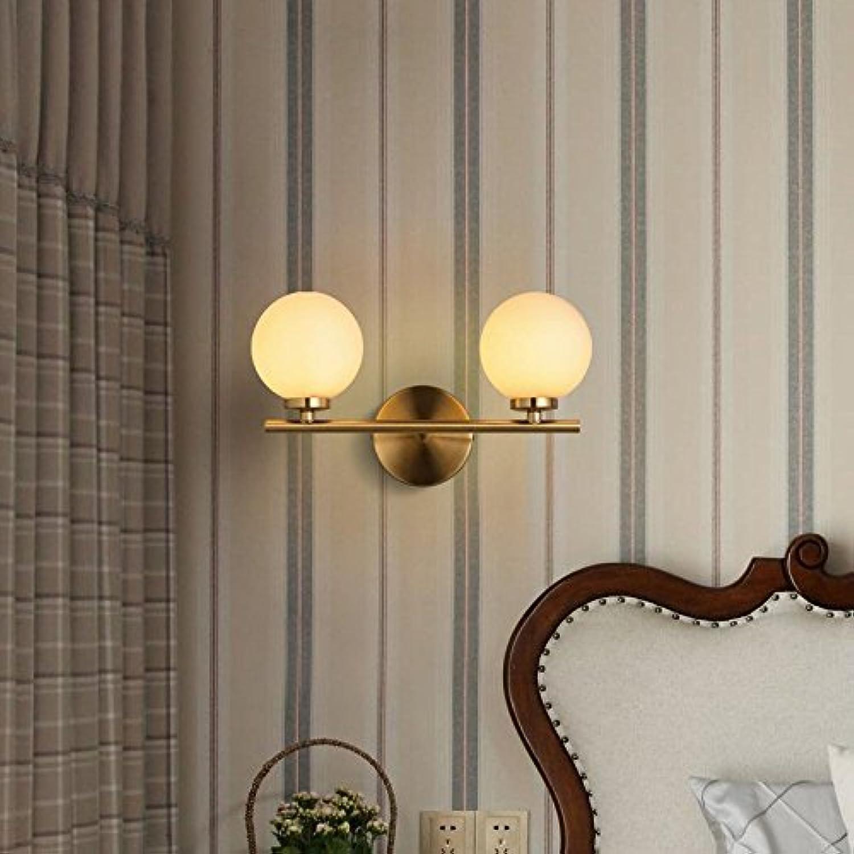 StiefelU LED Bedside LED Wandleuchte Kinderzimmer Schlafzimmer eine Strae Flur ist ein Cartoon smiley ultra-dünne Wand lampe led Wandleuchte - Double Ring