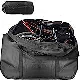 Wuudi Bolsa de Viaje Plegable para Bicicleta, Bolsa de Transporte con Cremallera para Embalaje de Bicicleta para Viaje...