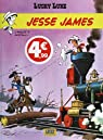 Lucky Luke, tome 4 : Jesse James par Goscinny