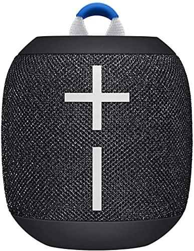Ultimate Ears Wonderboom 2 - Enceinte sans Fil Bluetooth Portable, Basse Profonde , Son Puissant à 360°, Etanche, Flottante, Batterie Longue Durée 13h - Noire
