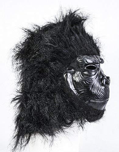 Noir Gorille Masque Latex Jungle Safari Animal Déguisement Halloween' Coopers TM '