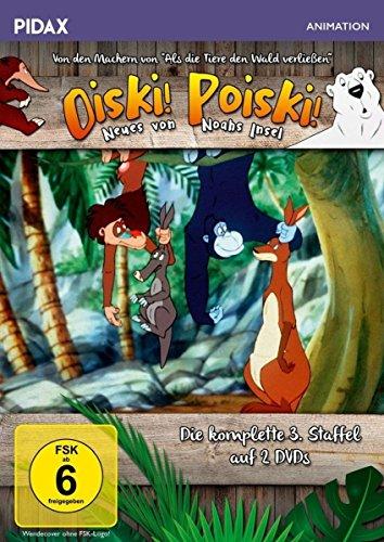 Oiski! Poiski! - Neues von Noahs Insel, Staffel 3 / Die komplette 3. Staffel der Kultserie von dem Machern von ALS DIE TIERE DEN WALD VERLIESSEN (Pidax Animation) [2 DVDs]