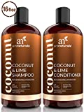 ArtNaturals Coconut-Lime Shampoo and Conditioner...