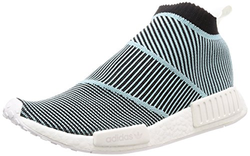 adidas NMD_CS1 Parley PK, Scarpe, Sneaker Unisex (Black/Sky, Fraction_41_And_1_Third)
