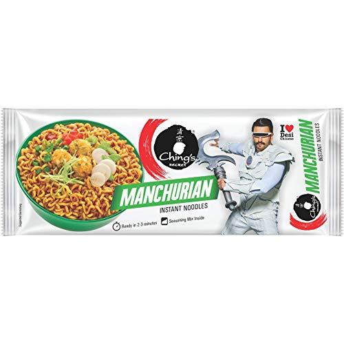 Chings Secret Instant Noodles, Manchurian, 240g Pack