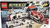 LEGO Cars Porsche Hybrid E K Pit Lane Costruzioni Piccole...