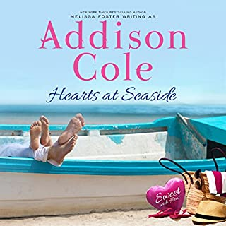 Hearts at Seaside     Sweet with Heat: Seaside Summers, Volume 3              By:                                                                                                                                 Addison Cole                               Narrated by:                                                                                                                                 Melissa Moran                      Length: 7 hrs and 47 mins     27 ratings     Overall 4.9