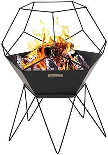 barbecook Jura Feuerschale schwarz 60x 60x 75cm