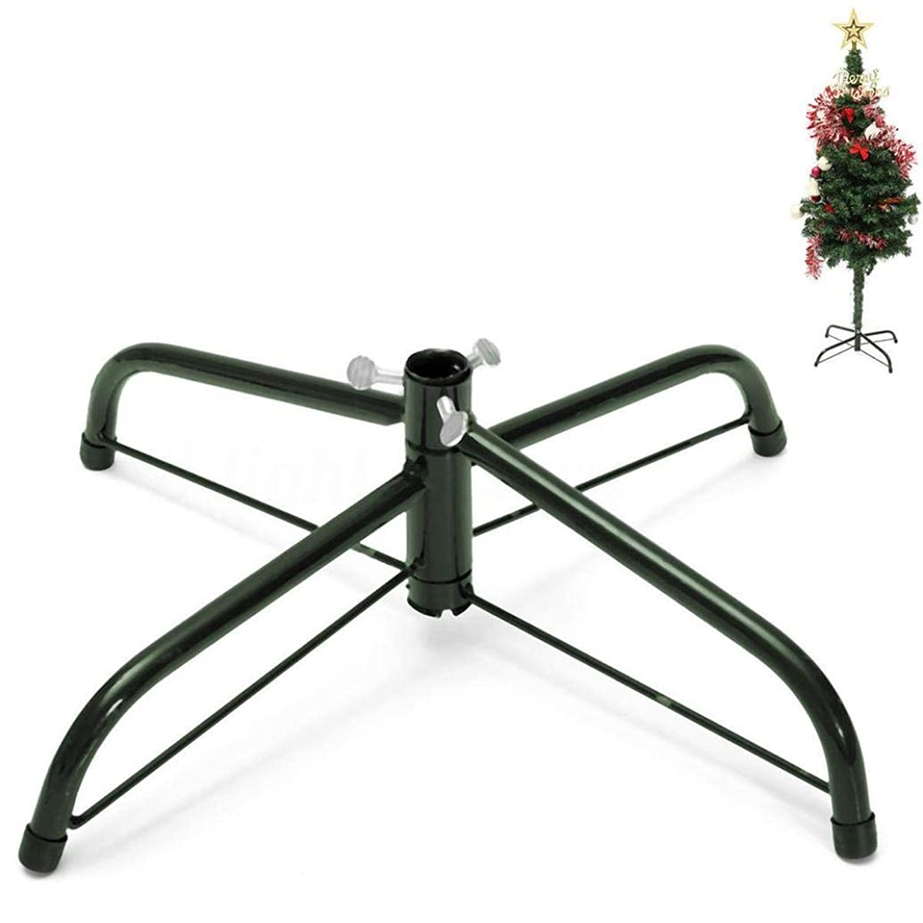 Maikerry Christmas Tree Stand for 3 to 5-Foot Trees Great Artificial Christmas Tree Stand (45cm)