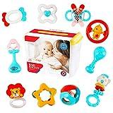 deAO Conjunto de Sonajeros y Mordedores para Bebé con Diseño Adorable Juguete...