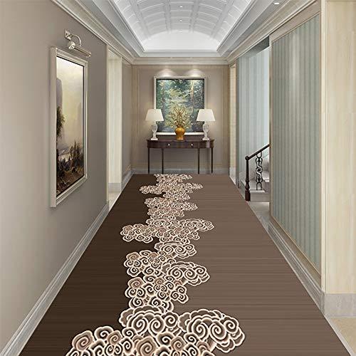 CNNRug Moderne loper, runner tapijten, antislip, gemakkelijk te reinigen, kamers trappen tapijt wasbaar thuis Passage Decor,C, 1m * 3m