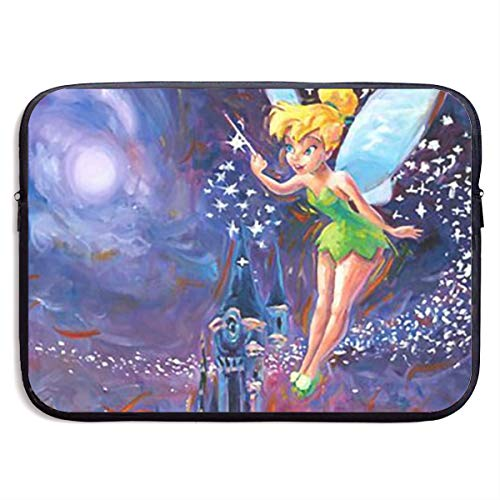 Laptop Sleeve Case Bag Cover Tinkerbell Spreading Pixie Dust Notebook Computer Pocket Case for 13-15 Inch Notebook Tablet IPad Tab