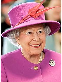 Impression sur toile représentant la Reine Elizabeth II de Rouse Portrait de l'Angleterre - Décoration murale
