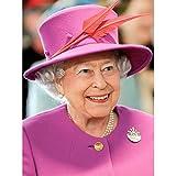 Rouse Portrait Queen Elizabeth II England Photo Art Print
