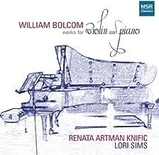 William Bolcom: Works for Violin and Piano - Renata Artman Knific
