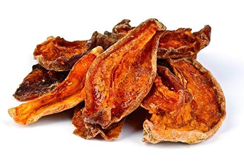 Bio getrocknete Pfirsich Stücke entsteint 1kg aromatischer Rohkost Snack, Pfirsiche sonnengetrocknet, ungeschwefelt, ungesüßt, ohne Zuckerzusatz, aus Usbekistan, 1000g
