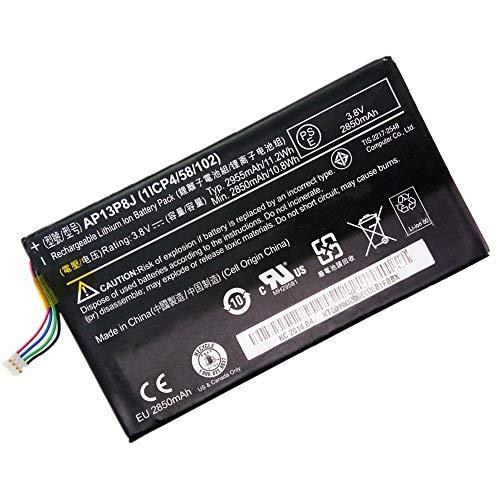 XITAIAN 3.8V 2850mAh AP13P8J Repuesto Batería para Acer Iconia Tab B1-720 B1-721 Series KT.0010G.005 1ICP4/58/102