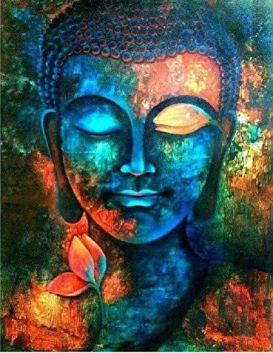 Puzzle 1000 Piezas,Ojos Cerrados Buda Decoración Moderna para El Hogar Regalos para La Decoración del Hogar Los Mejores Regalos para Sus Seres Queridos