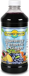 Dynamic Health Blueberry, Turmeric & Ginger Tonic Plastic | 16 oz
