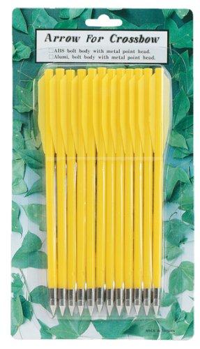 Boechner kunststof pijlen geel