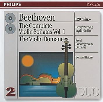 Beethoven: The Complete Violin Sonatas, Vol. I; The Violin Romances