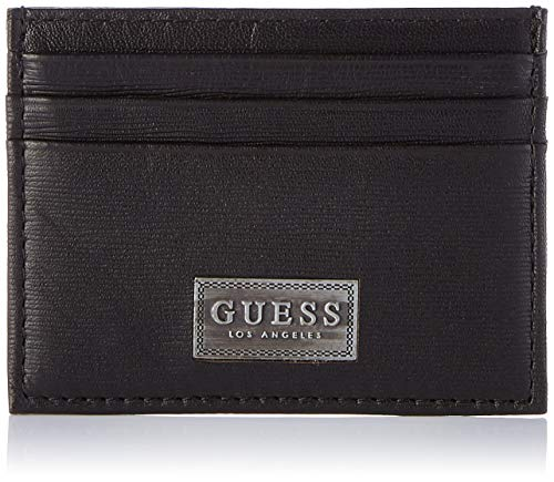 Guess Herren New Marcus Geldbörse, Schwarz (Black), 0.5x7.5x10 centimeters