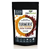 95% Curcumin Turmeric Extract Powder (125g) Natural Pure Supplement, Vegan, Organic, Water Soluble, Non-GMO, Gluten Free, Extra Strength, Antioxidants, Cacao Flavour, Piperine & Oil