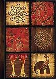 """Premium Address Book Big """"African Art - Mosaik III"""": Adressbuch"""