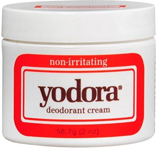 Yodora Deodorant Cream 2 oz (Pack of 6)