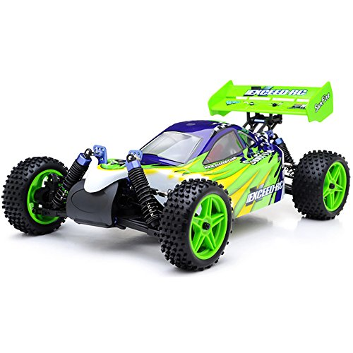 Exceed RC 1/10 2.4Ghz Electric SunFire RTR Off Road Buggy (Fire Green)