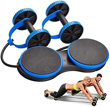 Bauchübung Roller Bauch Training Rollrad Sportzubehör Taille und Bauchtrainer