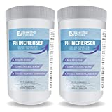 Essential Values 2 Pack PH Increaser (2.50 LBS per Bottle) - Soda Ash is Perfect for Balancing & Maintaining Hot Tubs, Spas, Pools - Fight Corrosion & Acidic Water Safely, Proudly Made in USA