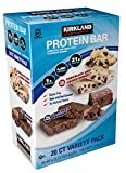 Kirkland | Signature Variety Protein Bars 20 count | 21G Of Protein, 4G Of Carbs...