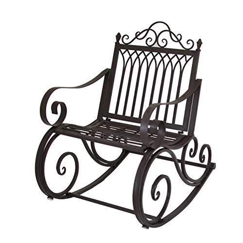 chemin_de_campagne Fauteuil Banc Rocking Chair de Jardin ou d'Intérieur 64.50 cm