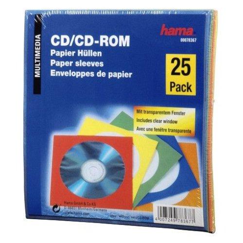Hama Papierleerhüllen 25er-Pack, farblich sortiert