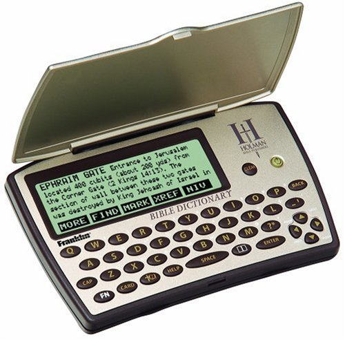 Franklin Electronics Holman Bible Dictionary (HBD-1450)