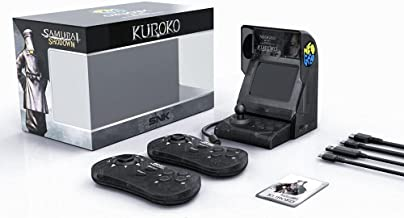 Console Neo Geo Mini Samurai Shodown Bundle-Kuroko - Limited Edition