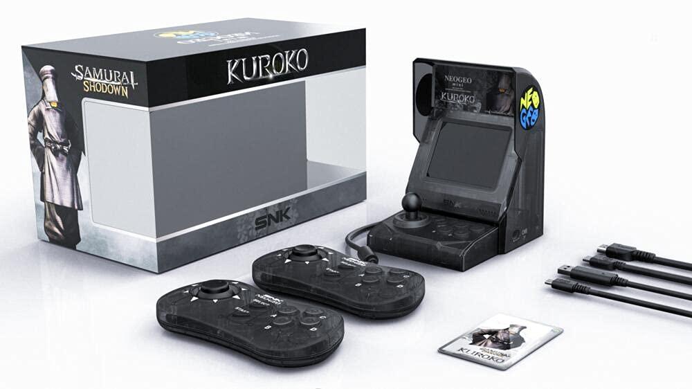 Neo Geo Mini Samurai Shodown Many popular brands Edition Easy-to-use Limited Bundle-Kuroko Conso