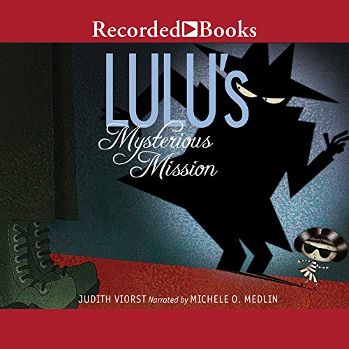 Lulu's Mysterious Mission audiobook cover art