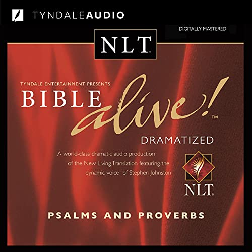 Bible Alive! NLT Psalms and Proverbs cover art