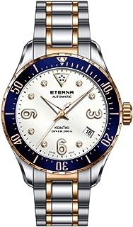 Eterna Lady KonTiki Diver Automatic Watch, SW 200, PVD, Diamonds, Special Ed.