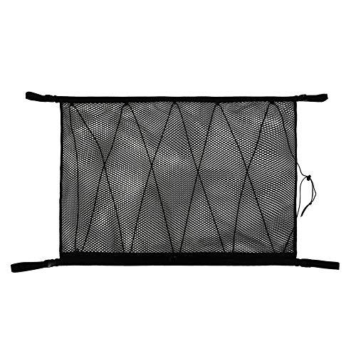 Maluokasa Auto gepäcknetz, 90 × 60cm Universal Auto Netz Frachtnetz Tasche für Aufbewahrung