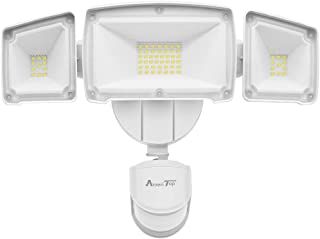 Motion Sensor Lights Outdoor, AmeriTop 39W Ultra Bright 3500LM LED Security Flood Lights; High Sensitivity/ Wide Angle Illumination/ 2 Control Dials Mode/ETL Certified IP65 Waterproof Outdoor Light