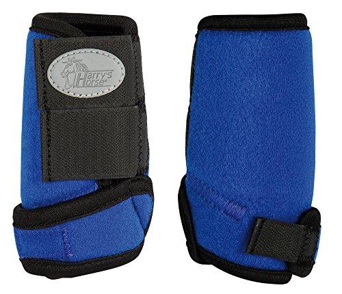 Harry's Horse Beenbeschermers Neoprene Tiny, Farbe:blau, Größe:Shetland
