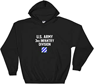 Rearguard Designs U.S. Army 3rd Infantry Division Hooded Sweatshirt Black