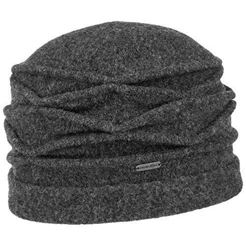McBURN McBurn Kamita Walkmütze Wintermütze Damenmütze Damen - Made in Italy Walkhut Herbst-Winter - One Size anthrazit