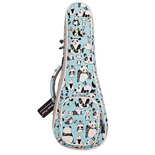"MUSIC FIRST cotton""PANDA"" ukulele case ukulele bag ukulele cover, New Arrial, Original Design, Best Christmas Gift. (23/24 inch Concert, PANDA)"
