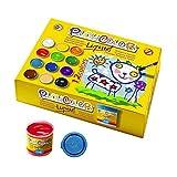Playcolor Liqüid Basic 40ml - Pintura Tempera - 12 Colores sutidos - 19941