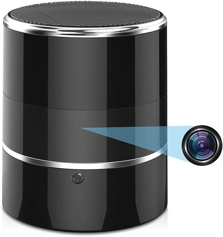 Hidden SALENEW大人気 Spy WiFi Camera in Bluetooth 240° Viewing 新作販売 An with Speaker